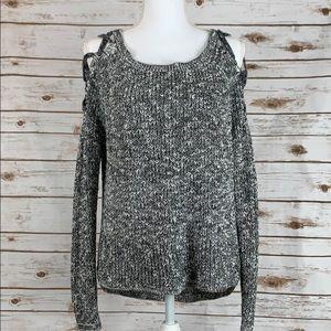 Express Criss Cross Shoulders Sweater